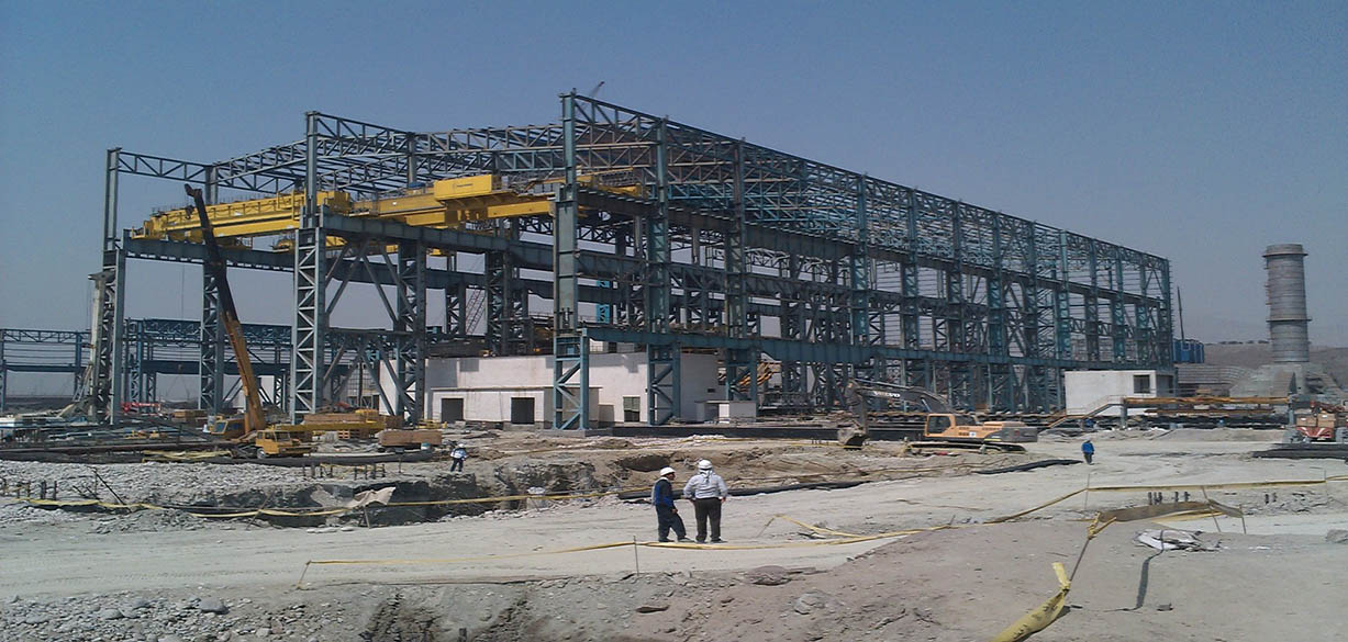 Yazd I Steel Making Plant
